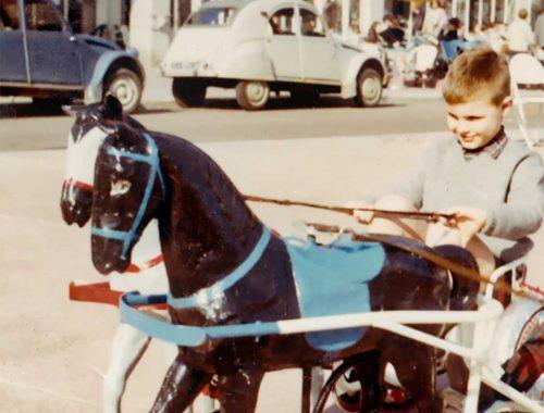 Petits chevaux à Royan