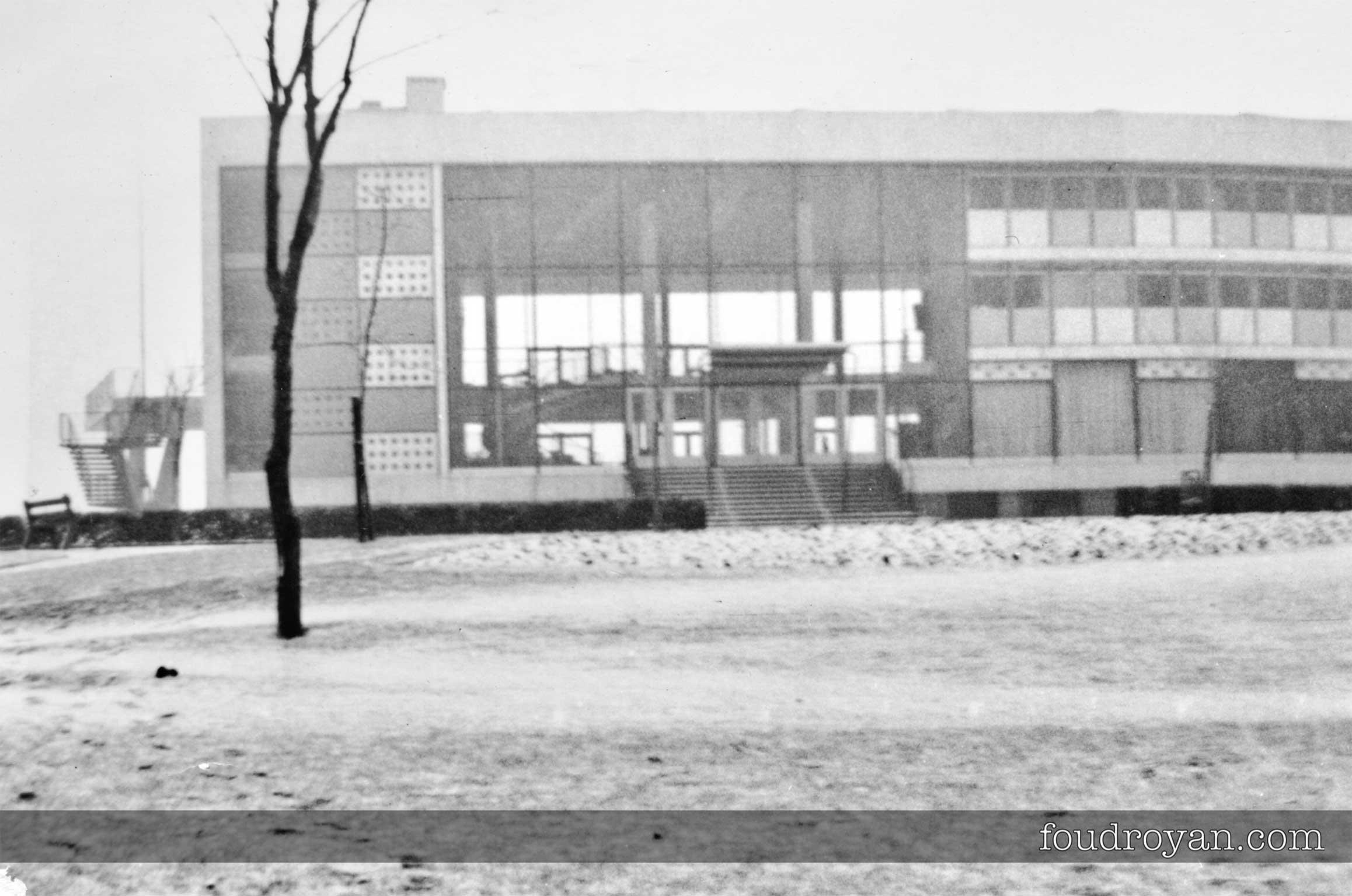 Arrière du Palais des Congrès de Royan en 1963