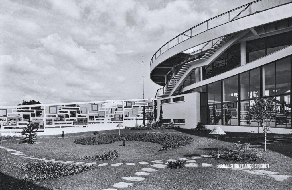 Jardin japonais du Casino Municipal de Royan dans les années 60