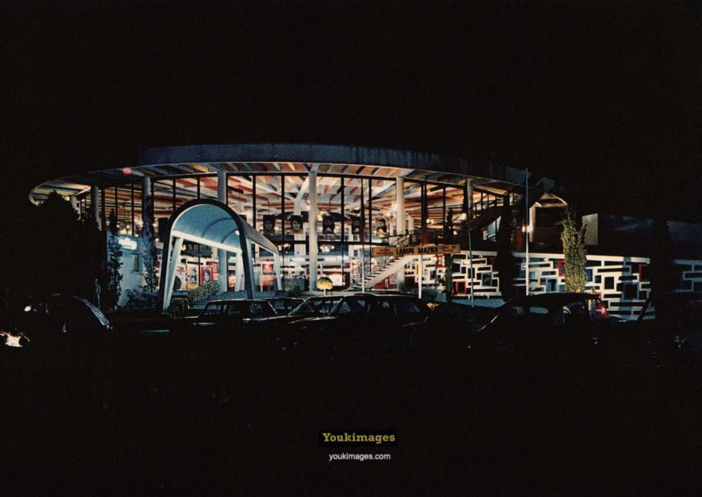 Casino Municipal de Royan. La Rotonde de nuit (années 60)