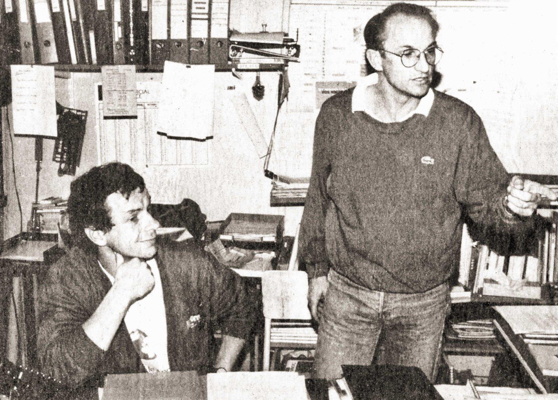Jacques Chauvain et Michel Bellouard