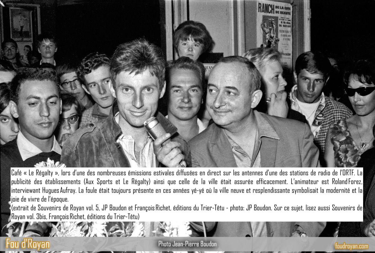 Hugues Aufray au début des années 60