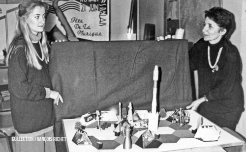 Isabelle Tissot et Bernadette Virassamy